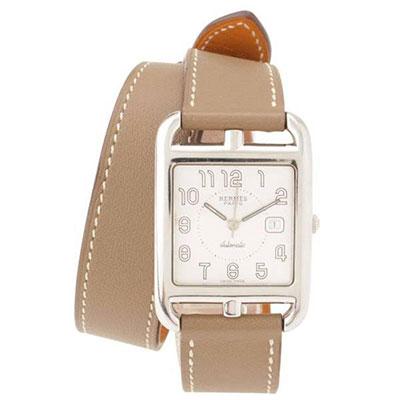 エルメス ケープコッド ドゥブルトゥール 腕時計 CC1.710