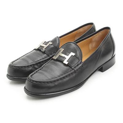 エルメス ヴィンテージ コンスタンス ローファー 靴