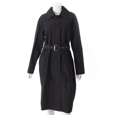 セリーヌ シングル ベルト付き トレンチコート ロングコート ブラック