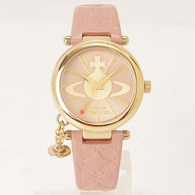 ヴィヴィアンウエストウッド 時計 ピンク
