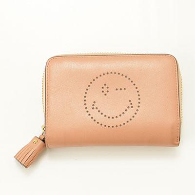 アニヤハインドマーチ コンパクト財布 ※汚れあり