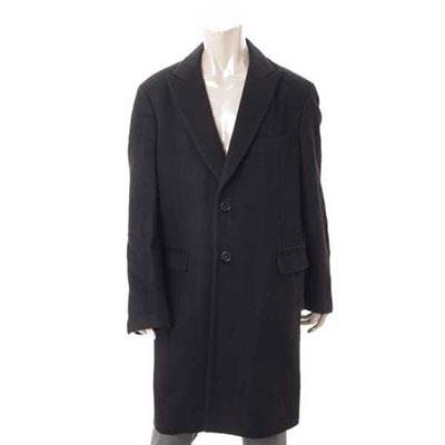 エルメス メンズ カシミヤ ロングコート PT9201 ブラック