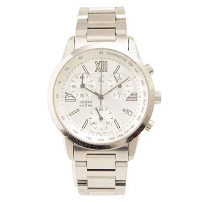 シチズン CITIZEN クロスシー クロノグラフ 腕時計 F500-T002382 不動