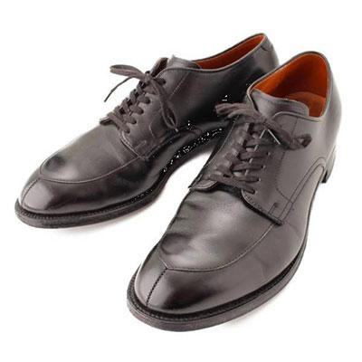 オールデン SHIPS別注 Vチップ カーフ レザー ドレスシューズ 革靴 54313 ブラック