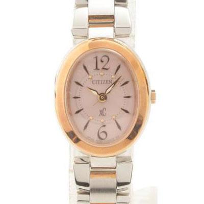 シチズン クロスシーXC エコドライブ 腕時計 B036-T012728 ピンク