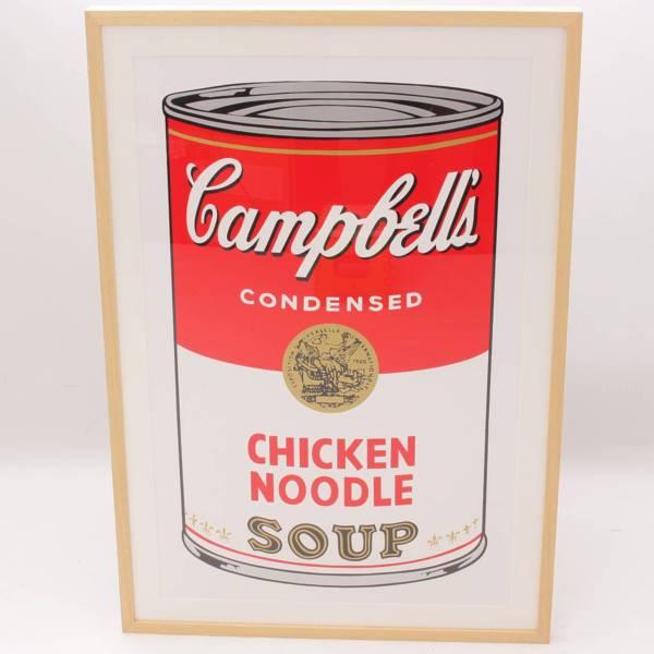 アンディ・ウォーホル「キャンベルスープ缶」サンデー・モーニング版