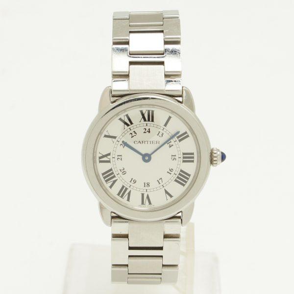 カルティエ ロンドソロカルティエ クオーツ 腕時計 W6701004