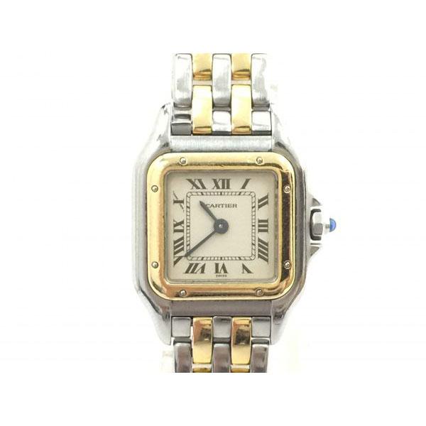 カルティエ パンテールSM YG/SS コンビ クォーツ 腕時計