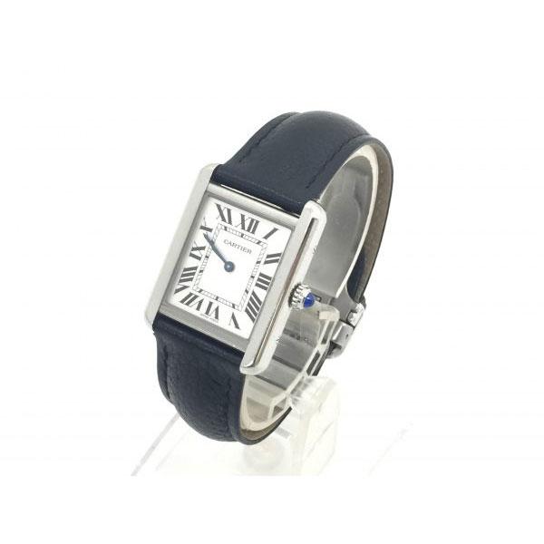カルティエ タンクソロSM 腕時計 WSTA0030