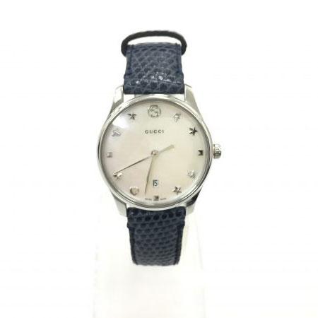 グッチ Gタイムレス 126.5 レディース クォーツ 腕時計