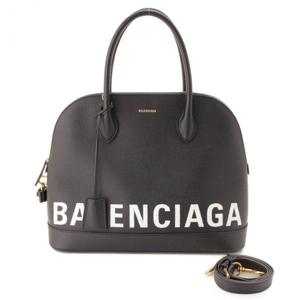 バレンシアガ(Balenciaga) ヴィル トップハンドルM ハンドバッグ 519036 ブラック