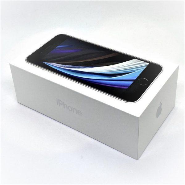 Apple スマートフォン iPhoneSE 第2世代 64GB MX9T2J/A ホワイト au ネットワーク〇 SIMロック未解除