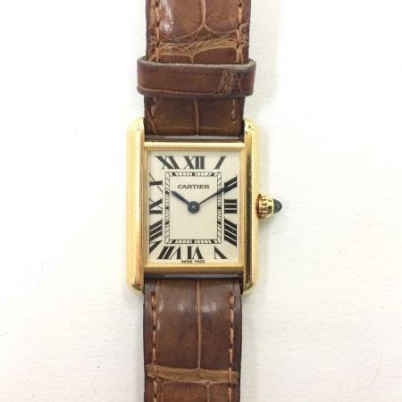 カルティエ タンク ルイ W1529856 750YG 腕時計