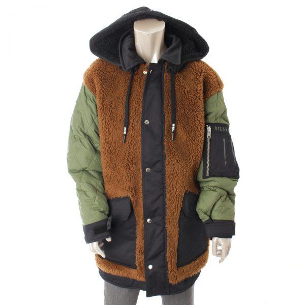 ディーゼル メンズ ウィンタージャケット リバーシブル コート 00SW160KASP