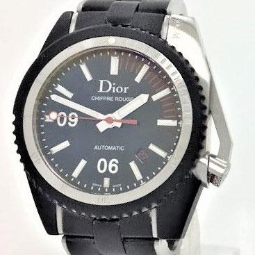 ディオールオム Chiffre Rouge D02 腕時計