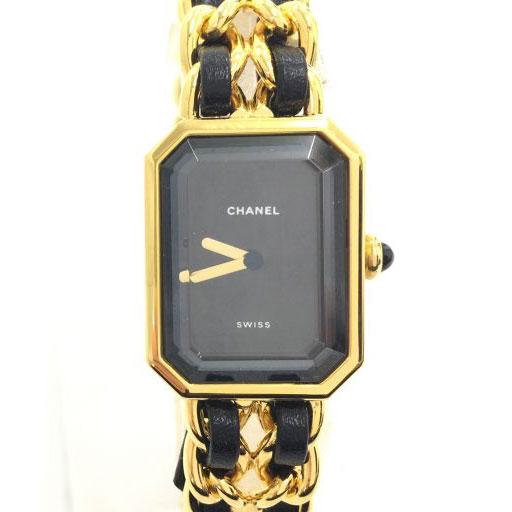 シャネル プルミエール 腕時計 ゴールド