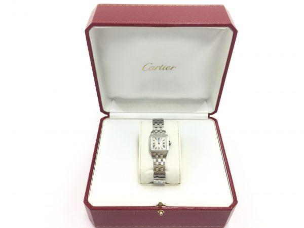 カルティエ サントス ドゥモワゼル SM W2506425 不動 時計