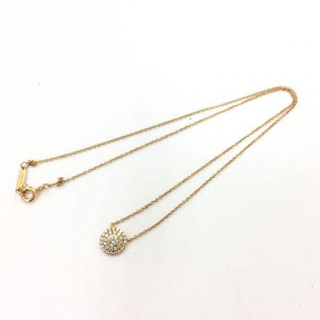 ティファニー ダイヤモンド ネックレス Au750