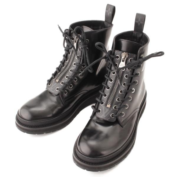 ルイヴィトン ブラックアイスライン ブーツ