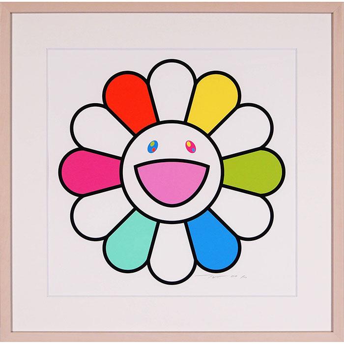 村上隆「にっこりな毎日をお花ちゃんと」シルクスクリーン 100枚限定