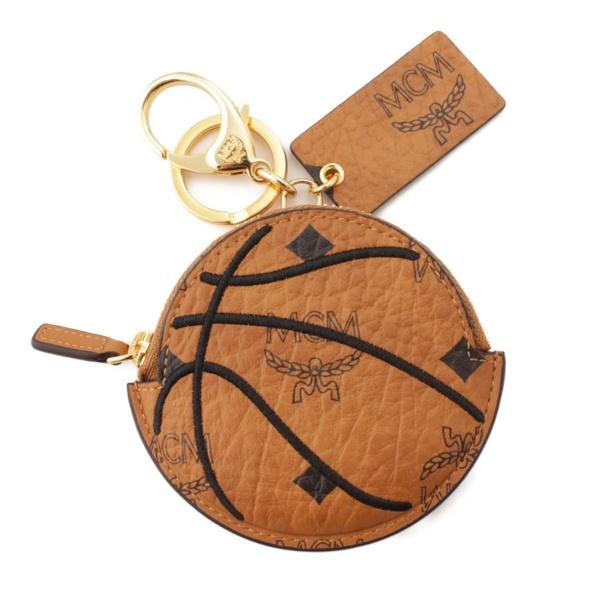 MCM プーマ 50周年記念 バスケットボールモチーフ コインケース