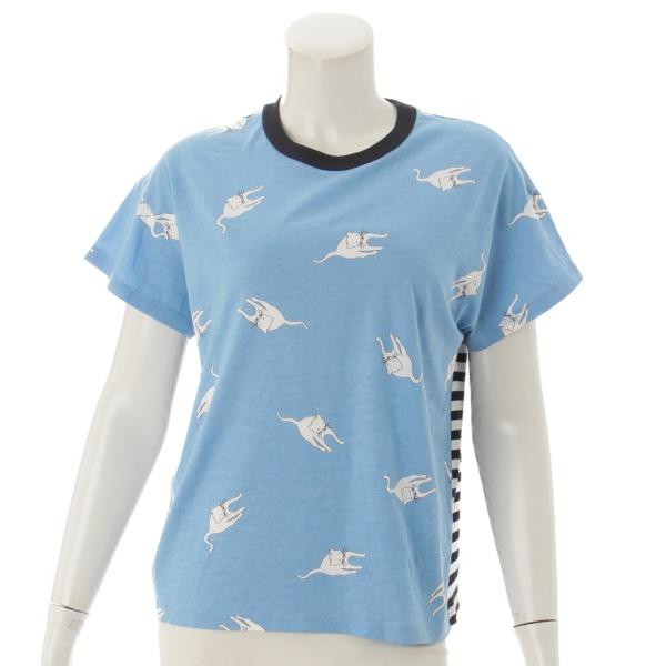 ミュウミュウ 15年 猫柄 Tシャツ
