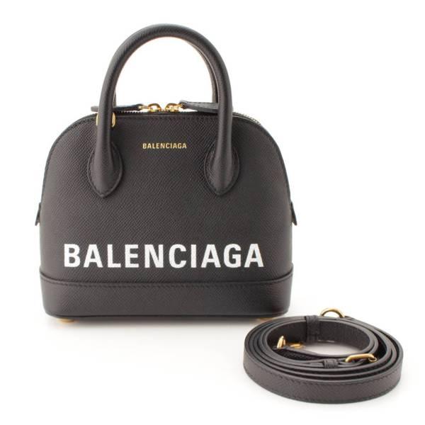 バレンシアガ ヴィル 2WAY トップハンドルバッグ