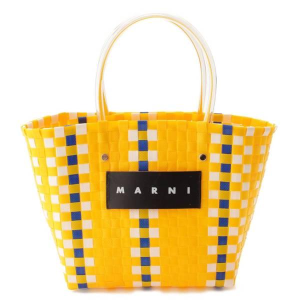 マルニ フラワーカフェ ピクニックバッグ