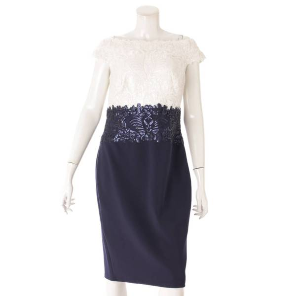 タダシショージ スパンコール ワンピース ドレス