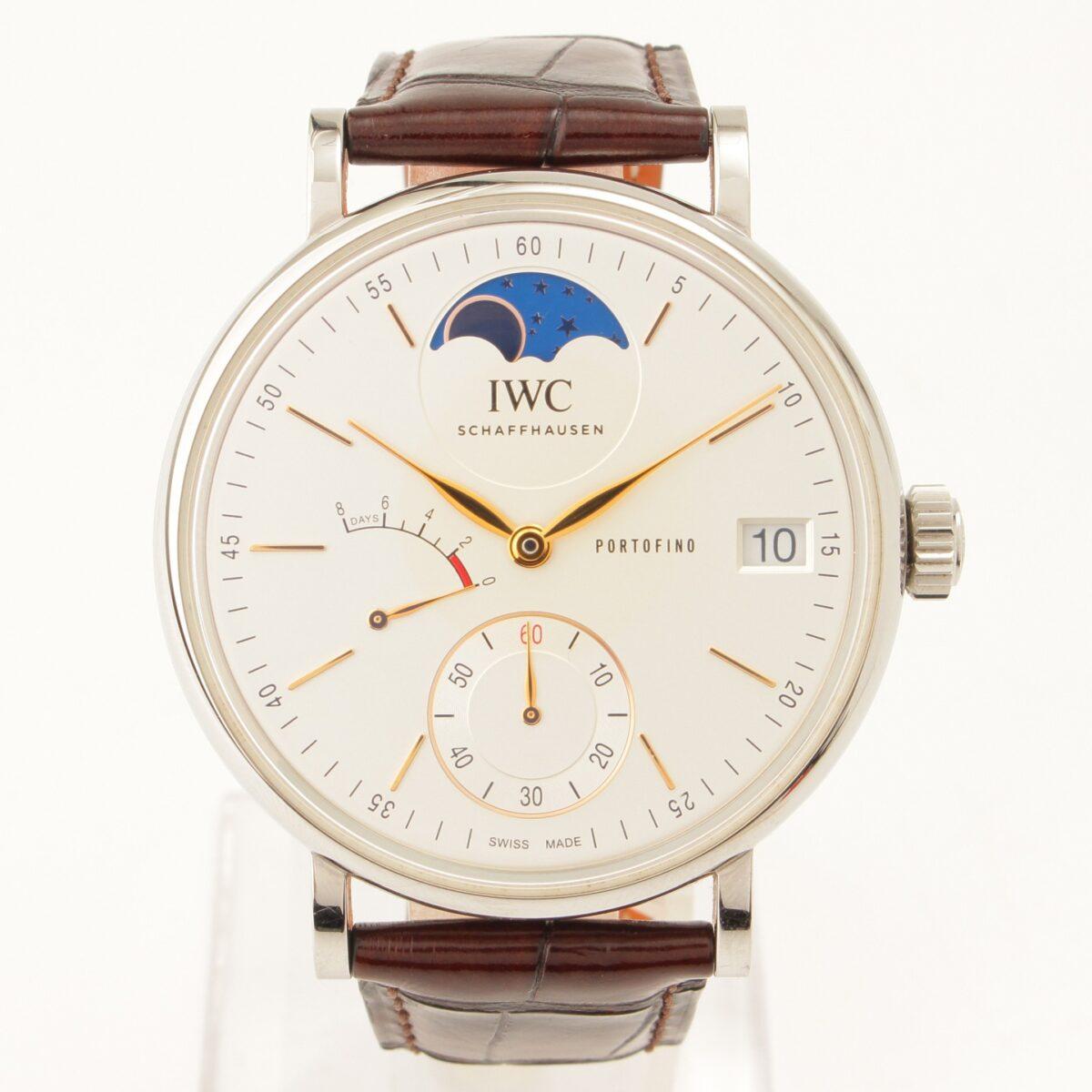 IWC ポートフィノ ハンドワインド ムーンフェイズ IW516401 腕時計