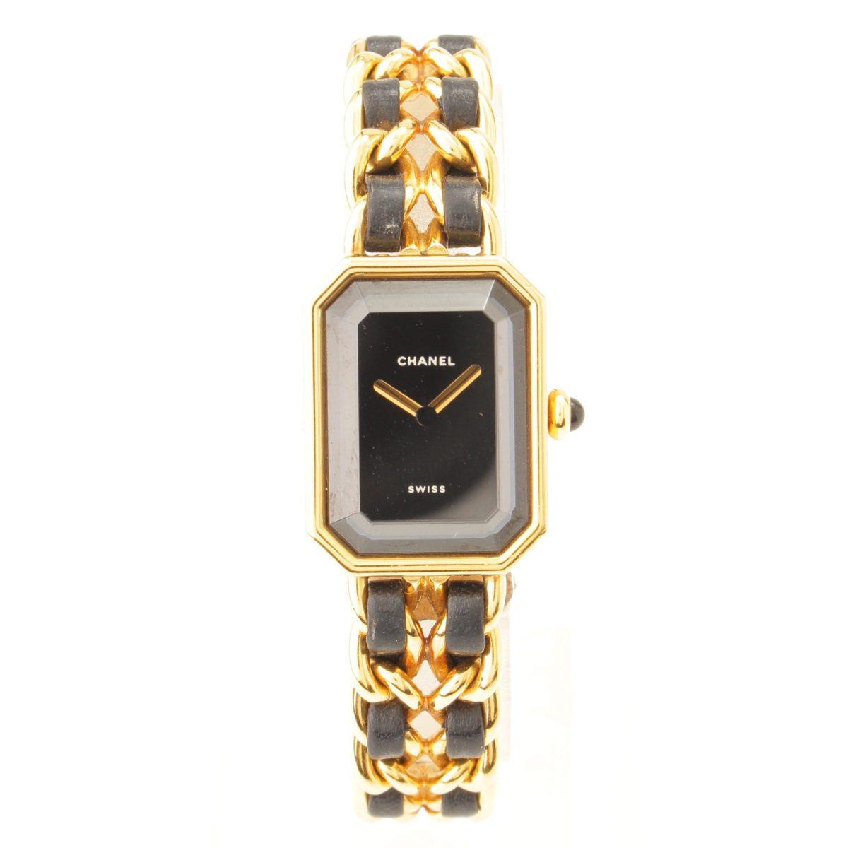 シャネル プルミエール XL 腕時計 ゴールド