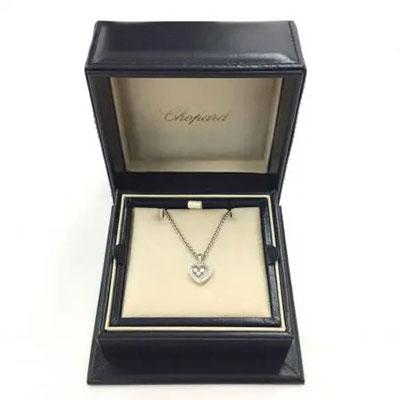 ショパール ハッピーダイヤモンド 3P ネックレス メレダイヤ
