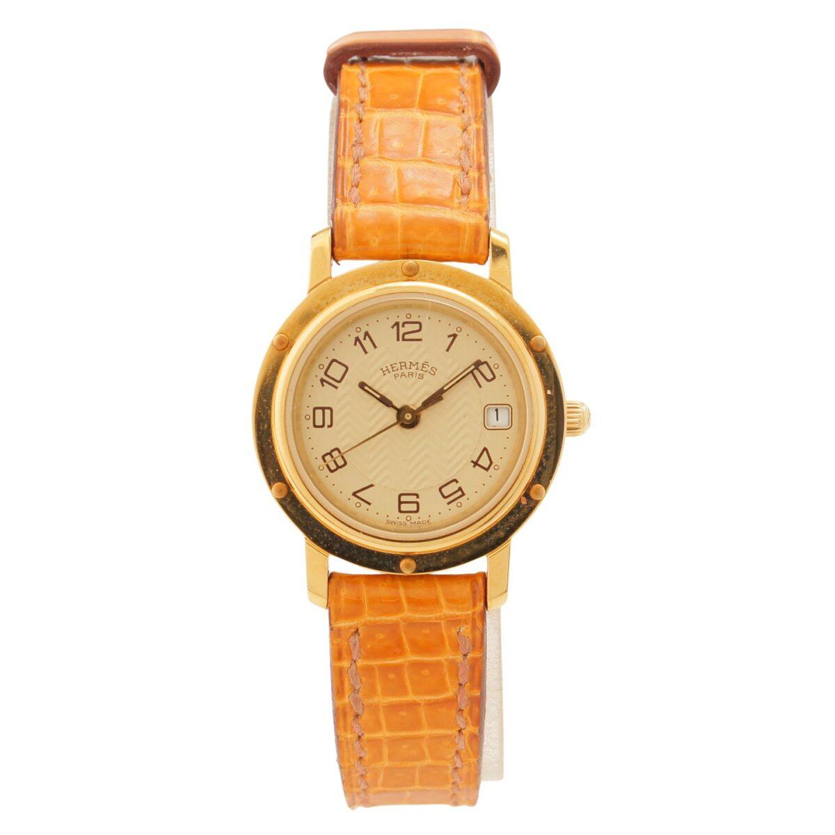 エルメス クリッパー 腕時計 CL4.285