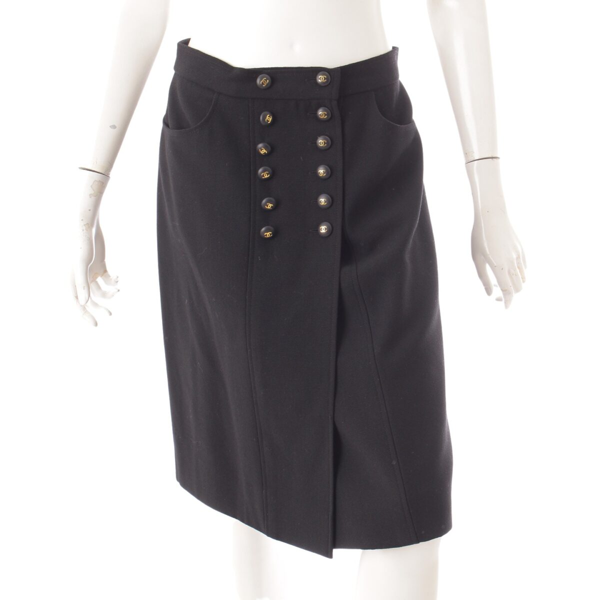 シャネル ヴィンテージ ココマーク スカート