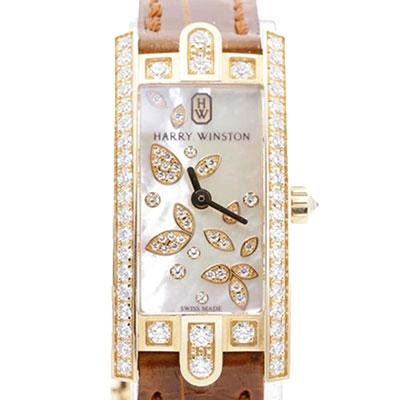 ハリーウィンストン アヴェニューCミニ リリークラスター 腕時計
