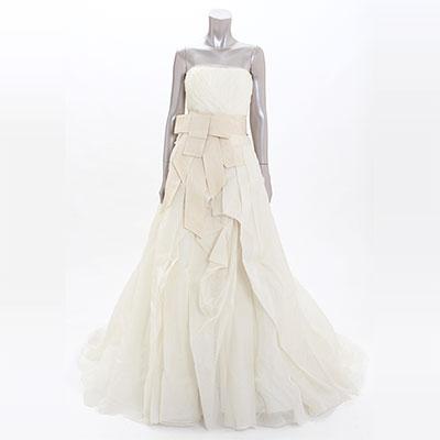 ヴェラウォン シルク ウェディングドレス