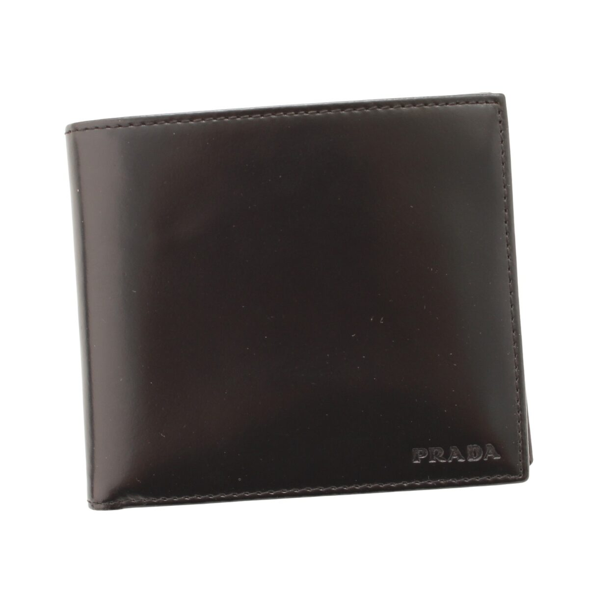 プラダ サフィアーノレザー 二つ折り財布 2M0738