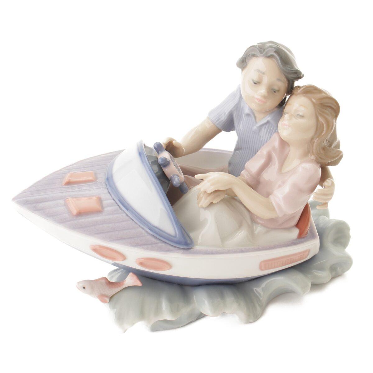 リヤドロ 5941 あの日の夏 陶器人形
