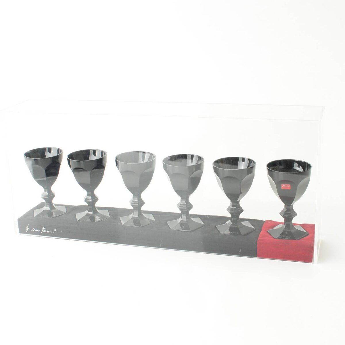 バカラ ワイングラス セット ダークサイド アンパルフェ 6客セット ブラック