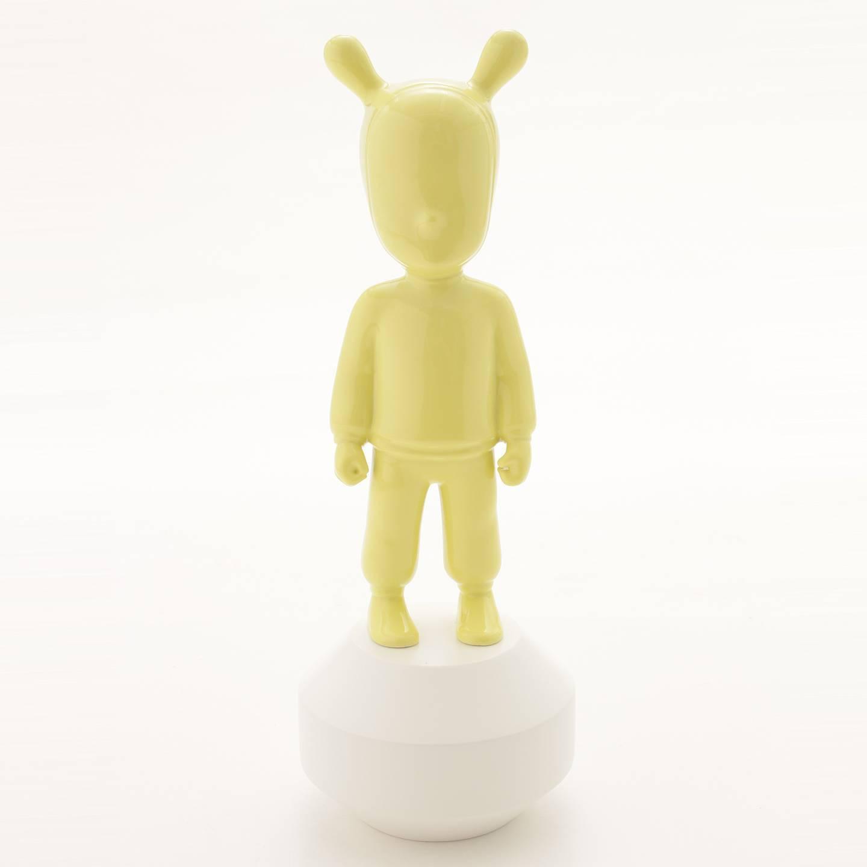 リヤドロ The yellow Guest-Little ハイメ・アジョン 陶器人形 置物 インテリア 7735 イエロー