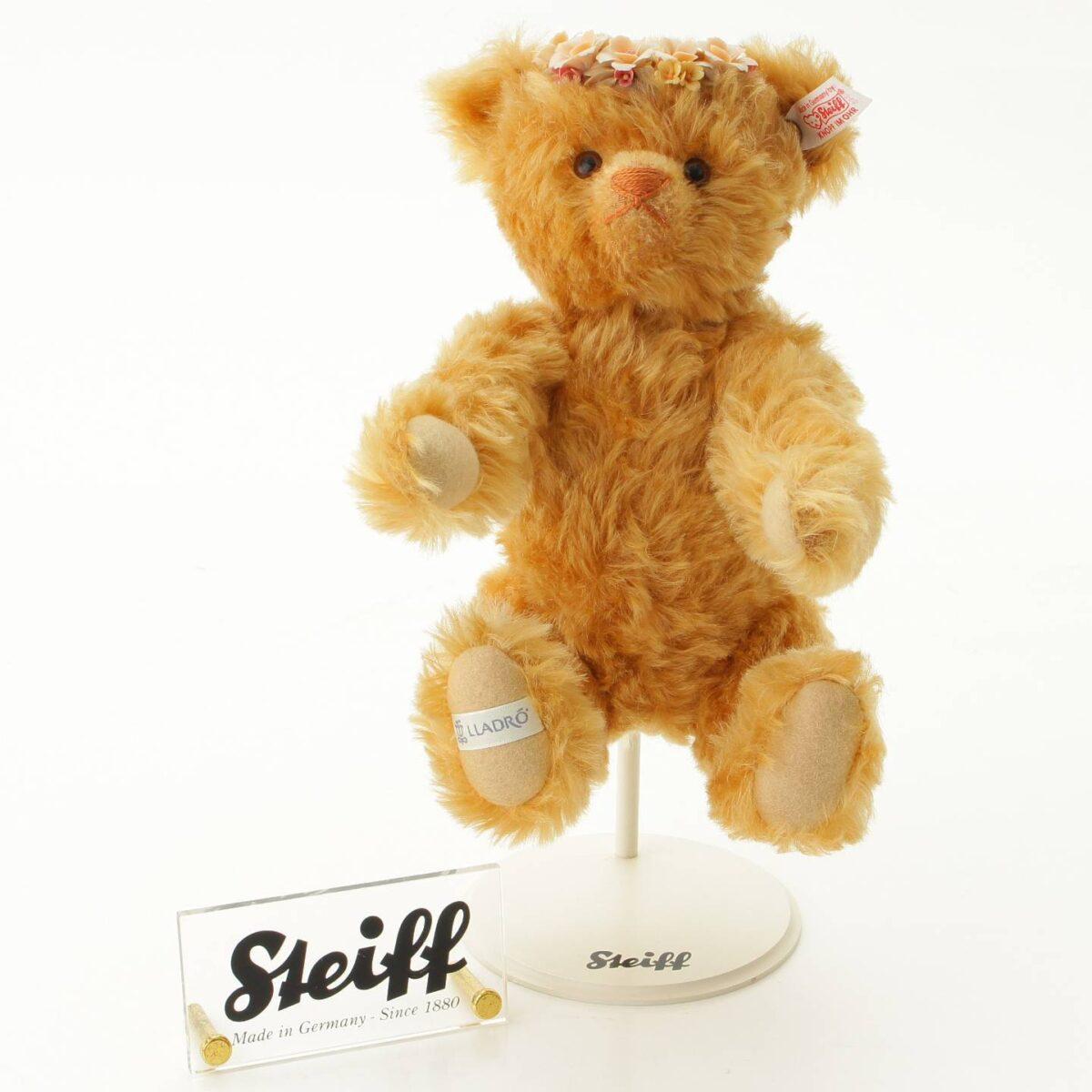 シュタイフ × リヤドロ シーズンコレクション オータム ベア テディベア 人形