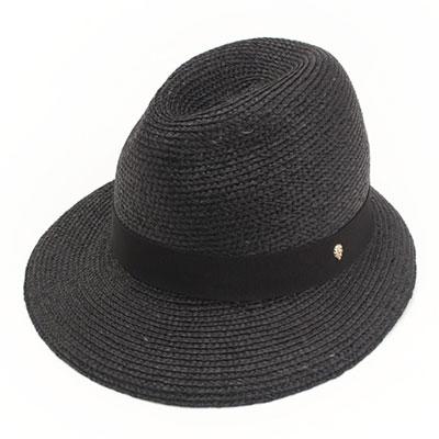 ヘレンカミンスキー ラフィア リボン ハット 帽子
