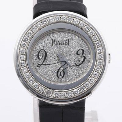ピアジェ ポセション 10402 ダイヤベゼル クォーツ時計