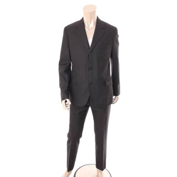 エルメス メンズ テーラードジャケット スラックス セットアップ スーツ