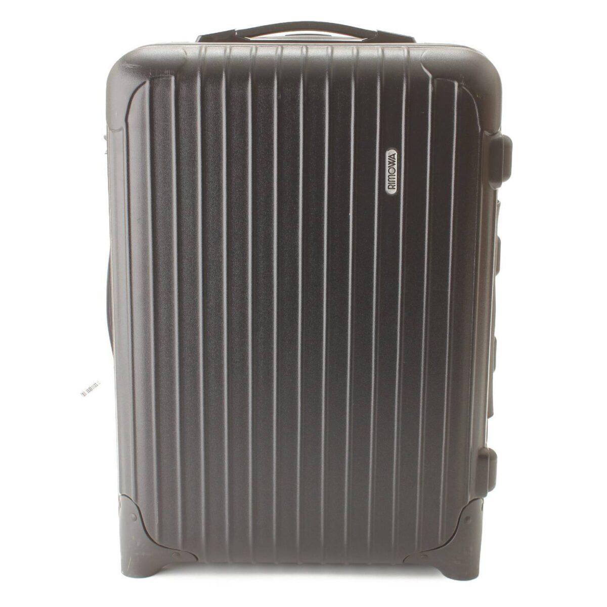 リモワ サルサ デラックス 2輪 スーツケース キャリーケース ブラック