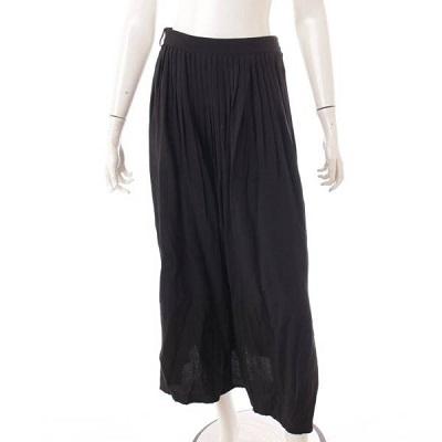 セリーヌ プリーツ ロングスカート 2J056206D ブラック