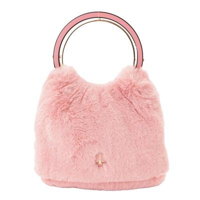 ケイトスペード ファーバッグ ピンク