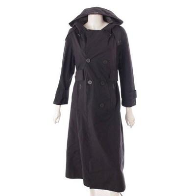 ヘルノ ラミナー スプリングコート IM026DL ブラック 襟汚れあり