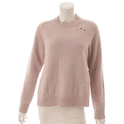 マルジェラ デストロイド ウール 長袖 ニット セーター S51GP0200 ベージュ S