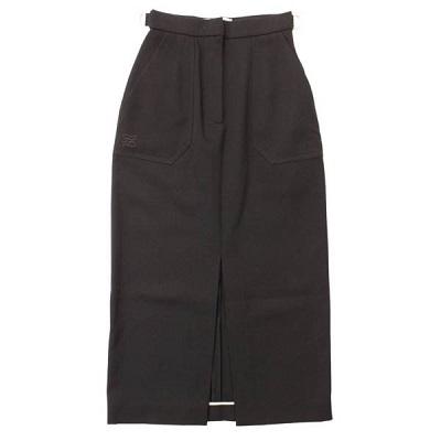 フェンディ 2019年 ロングスカート FQ7101 ブラック 36